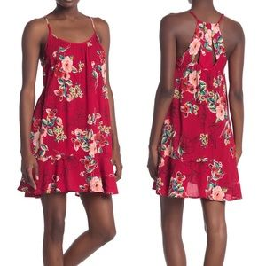 NWT A Band Of Gypsies Floral Dress